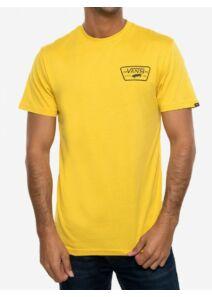 VANS Férfi sárga pólók