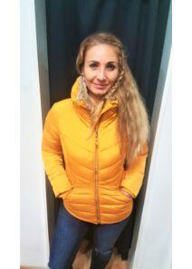 Tom Tailor Női sárga télikabátok