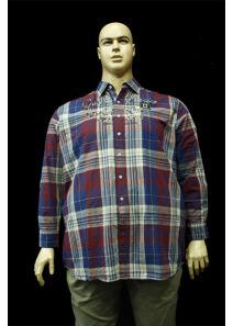 Kitaro Férfi kék ingek