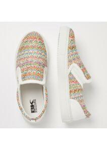 BK Női többszínű utcai cipők