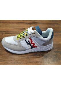 GAS Férfi fehér utcai cipők