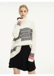 Tommy Hilfiger Női tört fehér pulóverek