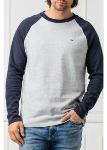 Tommy Hilfiger Férfi szürke hosszú ujjú pólók