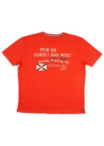 Kitaro Férfi piros pólók