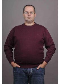Kitaro Férfi bordó pulóverek