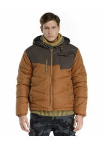 Devergo Férfi barna átmeneti kabátok