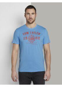 Tom Tailor Férfi világoskék pólók