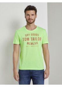 Tom Tailor Férfi zöld pólók