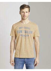Tom Tailor Férfi mustár pólók