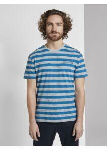 Tom Tailor Férfi kék pólók