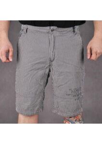 TwinLife Férfi fekete rövidnadrágok