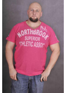 TwinLife Férfi rózsaszín pólók