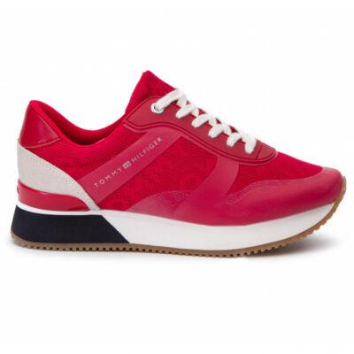 aranyos az egész család számára speciális értékesítés Tommy Hilfiger FW0FW04026 611 Tango red Női piros sportos cipő ...