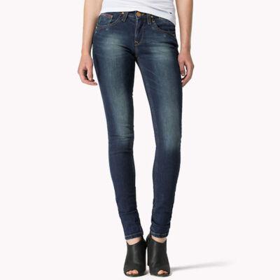 Tommy Hilfiger Női kék nadrágok