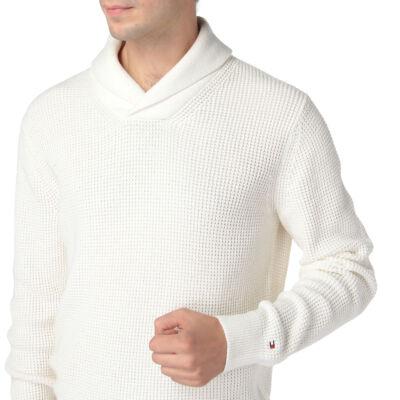 Tommy Hilfiger Férfi fehér pulóverek