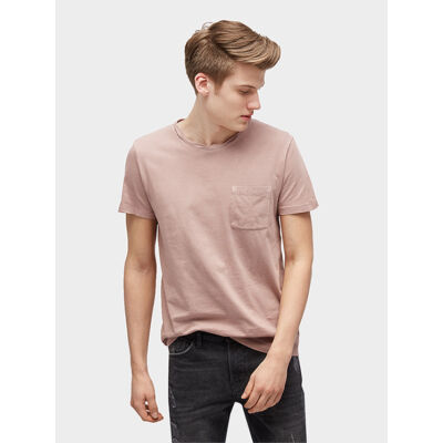 Tom Tailor 1002746 00 12 11014 púderszínű férfi póló