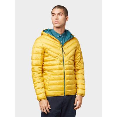 Tom Tailor 1011871 XX 12 18798 Férfi könnyű steppelt kabát (sárga)