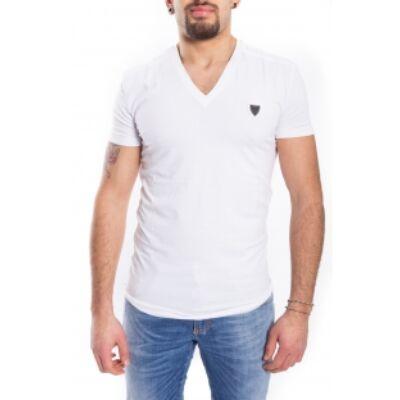 Antony Morato MMKS00738 1000 FA120001 Férfi fehér Elegáns Póló