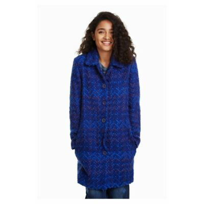 Desigual 18WWEWBM 4017 Női klasszikus vágott kabát