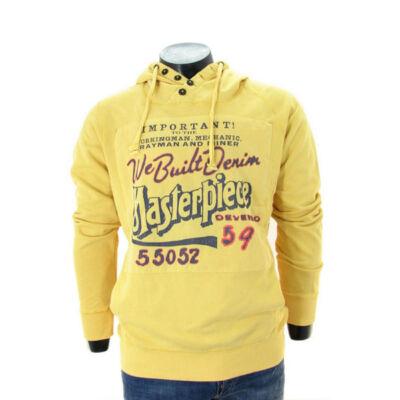 Devergo 1D414083LS0719 kapucnis férfi pulóver