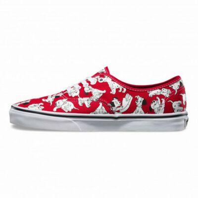 Vans VN-O 18RIOI Disney Dalmata Red 101 kiskutyás Cipő