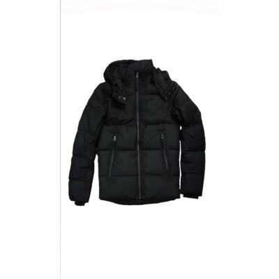 Tom Tailor 3555313 00 10 2999 Fekete steppelt pufi kapucnis dzseki