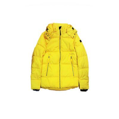 Tom Tailor 3555313 00 10 3549 Sárga steppelt pufi kapucnis dzseki