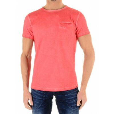 No Excess 76 76320110 094 Coral színű Férfi póló