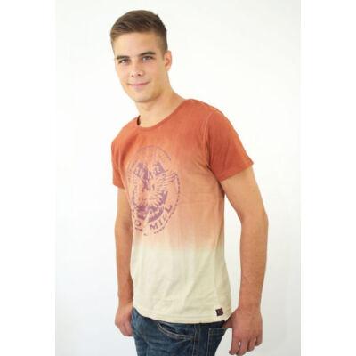 Devergo' 1D324017SS0124 férfi batikolt póló
