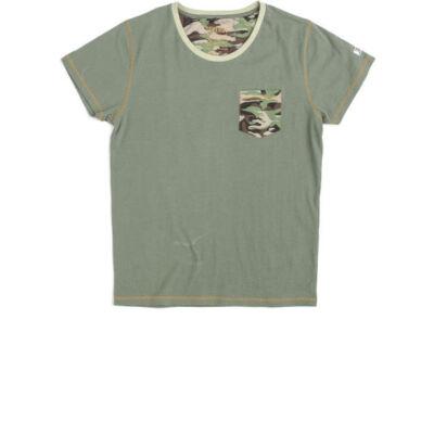 Devergo' 1D414057SS0408 terep mintás férfi póló