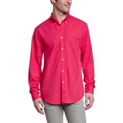 Tommy Hilfiger Férfi rózsaszín ingek