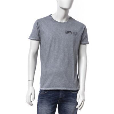 Devergo 1d624022ss0122 82 szürke férfi póló