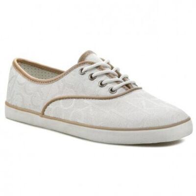 Calvin Klein Női tört fehér utcai cipők