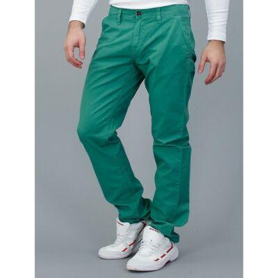 Tom Tailor 6400201 62 10 7298 zöld férfi chino vászonnadrág