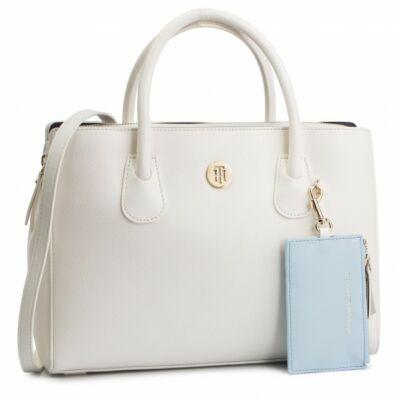 Tommy Hilfiger AW0AW06487 002 Női fehér táska