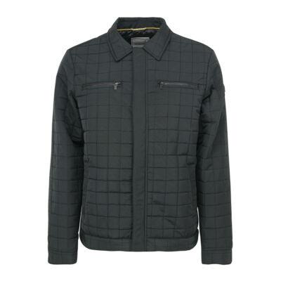 No Excess 87 630807 025 Férfi fekete steppelt kabát