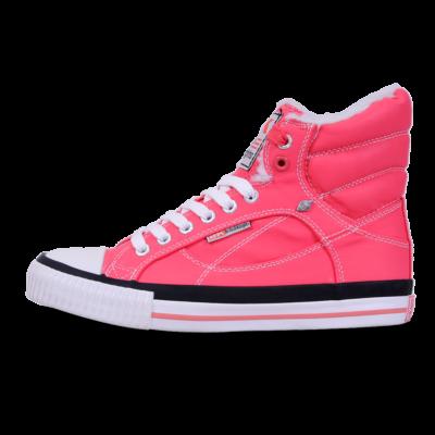 BK Női rózsaszín utcai cipők
