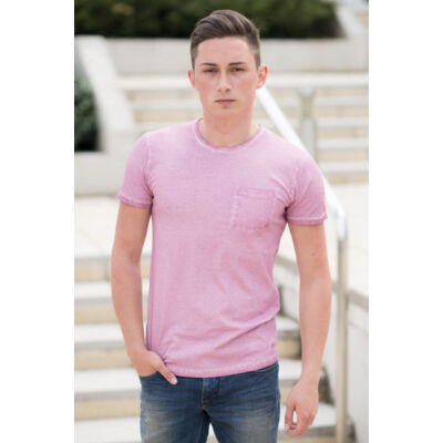 No Excess Férfi rózsaszín pólók
