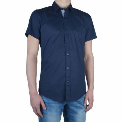 Antony Morato mmss00098 7029 Fa450001 Kék férfi ing
