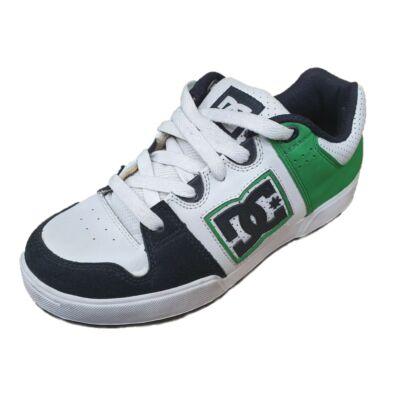 DC D0302862B Youth's Turbo 2 Női fehér bőr utcai cipő
