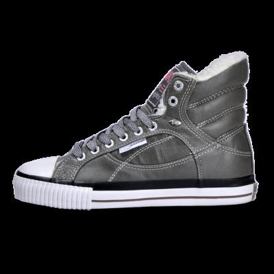 BK Női szürke utcai cipők