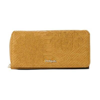 Desigual 18WAYP23 8019 Nagyméretű sárga pénztárca