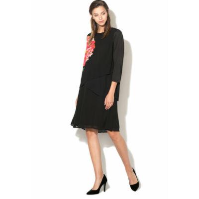 Desigual Női fekete ruhák, tunikák és overálok