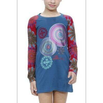 Desigual Lány kék ruhák, tunikák