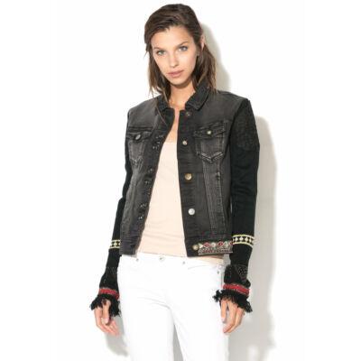 Desigual Női fekete átmeneti kabátok