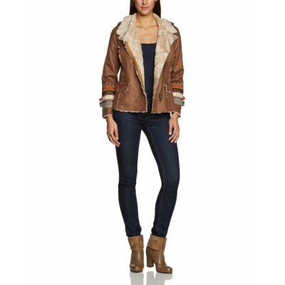 Desigual Női barna átmeneti kabátok