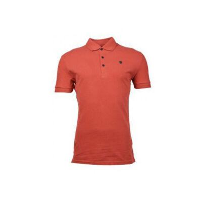 Antony Morato MMKS00497 5026 Férfi tégla színű galléros póló