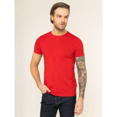Tommy Hilfiger MW0MW10800 XLG Férfi piros rövid ujjú póló