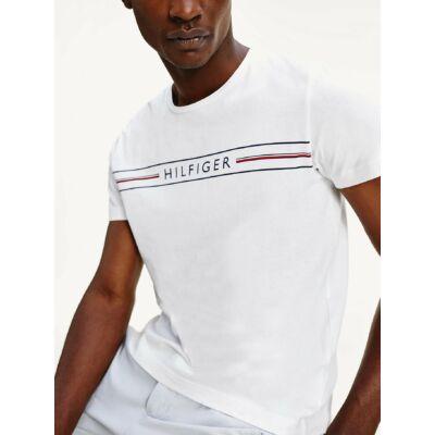 Tommy Hilfiger MW0MW13328 YBR fehér férfi póló