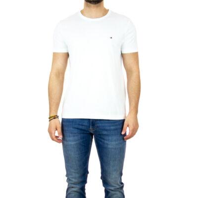Tommy Hilfiger MW0MW13344 YBR férfi fehér póló